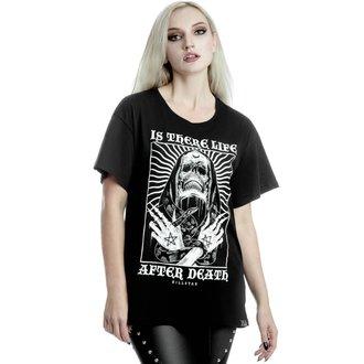 t-shirt femmes KILLSTAR - Afterlife Relaxed - NOIR, KILLSTAR