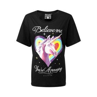 T-shirt KILLSTAR - ANNOYING RELAXED - NOIR