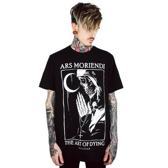 T-shirt KILLSTAR - Ars Moriendi - NOIR, KILLSTAR