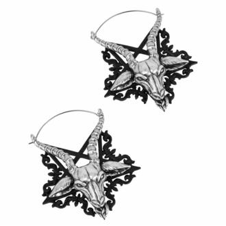 Boucles d'oreilles KILLSTAR - Ave Satana - ARGENT, KILLSTAR