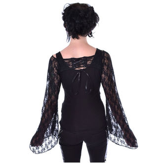 tričko dámské s dlouhým rukávem POIZEN INDUSTRIES - ADDAMS - BLACK, POIZEN INDUSTRIES