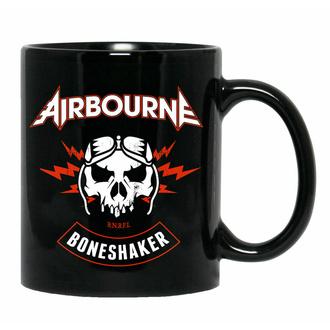 Mug Airbourne - Boneshaker Biker Black, NNM, Airbourne