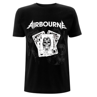 tee-shirt métal pour hommes Airbourne - Playing Cards - NNM, NNM, Airbourne