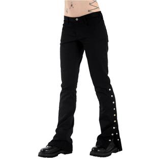 pantalon pour femmes BLACK PISTOL - Button Hipster Denim (Noire), BLACK PISTOL