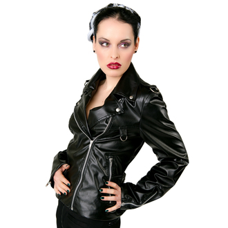 veste en cuir pour femmes - Biker Jacket Sky Black - BLACK PISTOL, BLACK PISTOL