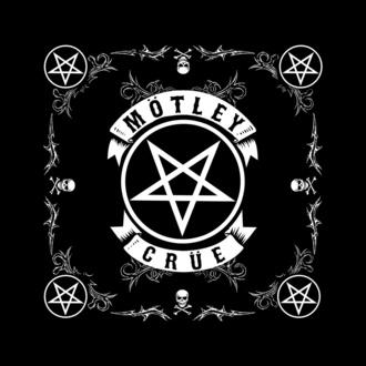 Foulard/ bandana Mötley Crüe - Pentagram - RAZAMATAZ, RAZAMATAZ, Mötley Crüe