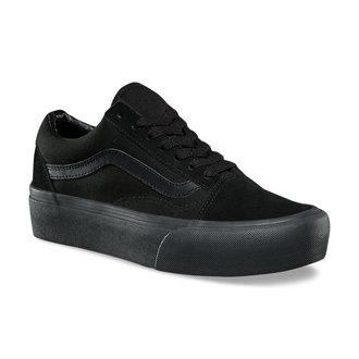chaussures de tennis basses pour femmes - UA OLD SKOOL PLATFORM Black/Black - VANS, VANS