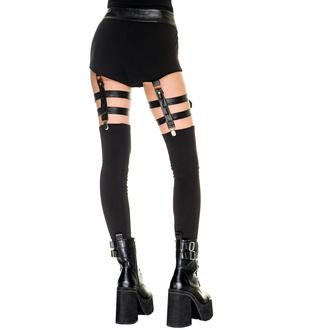 pantalon pour femmes (leggings) KILLSTAR - Bailout - Noir, KILLSTAR