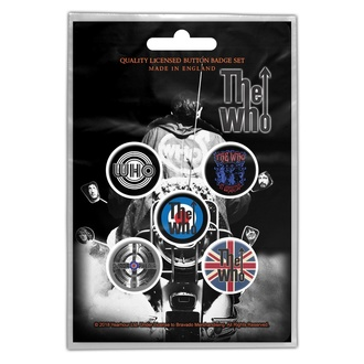 Badges The Who - Quadrophenia - RAZAMATAZ, RAZAMATAZ, Who