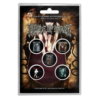 Badges Cradle Of Filth - Albums - RAZAMATAZ, RAZAMATAZ, Cradle of Filth