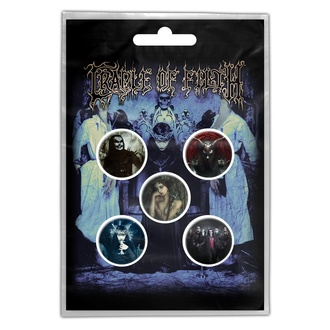 Badges Cradle Of Filth - Cryptoriana - RAZAMATAZ, RAZAMATAZ, Cradle of Filth