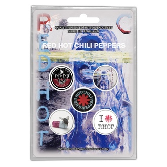 Badges Red Hot Chili Peppers - By The Way - RAZAMATAZ, RAZAMATAZ, Red Hot Chili Peppers