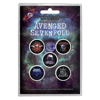 Badges Avenged Sevenfold - The Stage - RAZAMATAZ, RAZAMATAZ, Avenged Sevenfold