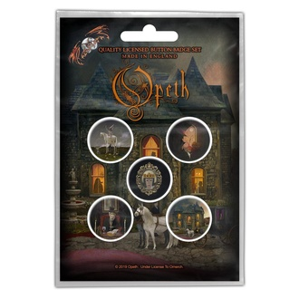 Badges Opeth - In Caude Venenum - RAZAMATAZ, RAZAMATAZ, Opeth
