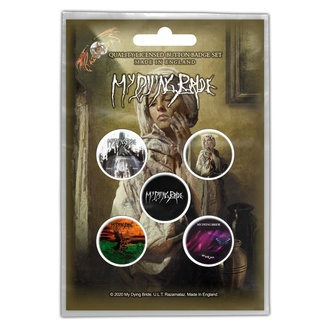 Badges My Dying Bride - The Ghost Of Orion - RAZAMATAZ, RAZAMATAZ, My Dying Bride