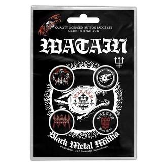 Badges Watain - Black Metal Militia - RAZAMATAZ, RAZAMATAZ, Watain