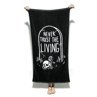 Serviette (une serviette de bain) BLACK CRAFT - Never Trust The Living, BLACK CRAFT