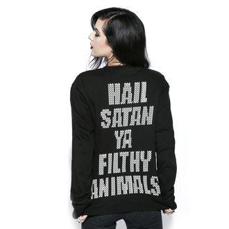 sweat-shirt sans capuche pour hommes - Black Metal Rudolph - BLACK CRAFT