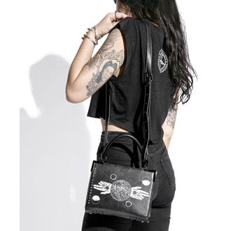 Sac à main (sac) BLACK CRAFT - Mini Cartable Two Finger Salute , BLACK CRAFT