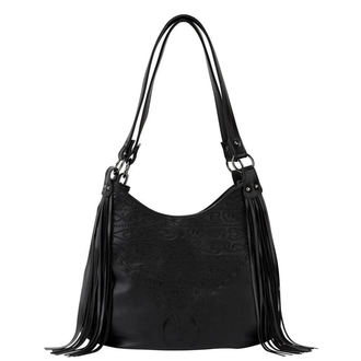 Bourse (Sac à main) KILLSTAR - BELLADONNA FRINGE - NOIR, KILLSTAR