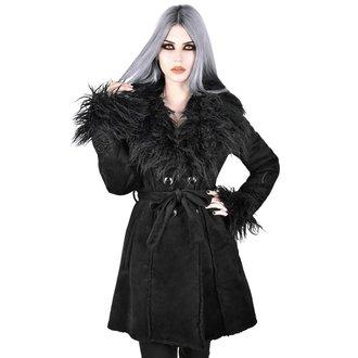 Manteau pour femmes KILLSTAR - Belladonna Shearling - NOIR, KILLSTAR