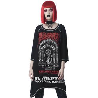 T-shirt unisexe (tunique) KILLSTAR - Beloved Longline - Noir, KILLSTAR