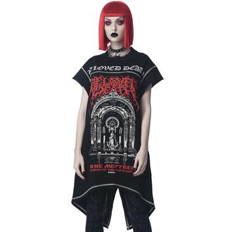 T-shirt (tunique) unisexe KILLSTAR - Beloved Longline - Noir, KILLSTAR