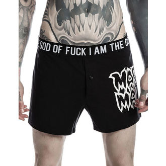 boxeur short hommes KILLSTAR - MARILYN MANSON - God of Fuc - Noir, KILLSTAR, Marilyn Manson