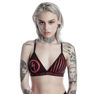 soutien-gorge pour femmes KILLSTAR - MARILYN MANSON - Bigger than Satan - Noir, KILLSTAR, Marilyn Manson