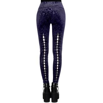Pantalon (leggings) pour femmes KILLSTAR - Bite Me - PRUNE, KILLSTAR