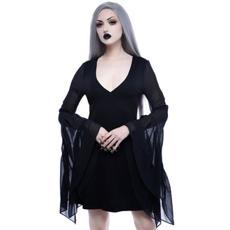 Robe pour femmes KILLSTAR - Black Veil - KSRA001082