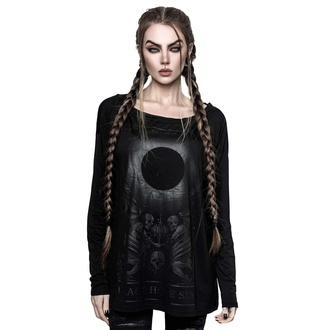 T-shirt à manches longues pour femmes KILLSTAR - Black Sun, KILLSTAR