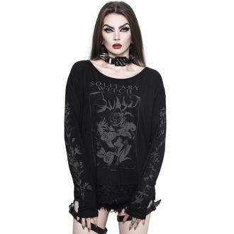 T-shirt pour femmes à manches longues KILLSTAR - Botany - Noir, KILLSTAR