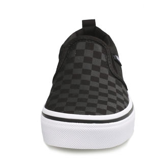 chaussures de tennis basses enfants - YT ASHER (Checker)Blk/Bl - VANS, VANS