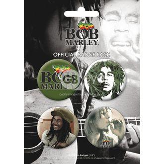 épinglettes - BOB MARLEY - BP0056, GB posters, Bob Marley
