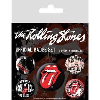 Épingle badges Rolling Stones - (&&string0&&) - PYRAMID POSTERS, PYRAMID POSTERS, Rolling Stones