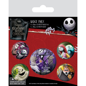 Épingle badges Nightmare Before Christmas - (&&string0&&) - PYRAMID POSTERS, PYRAMID POSTERS