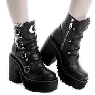 chaussures à semelles compensées pour femmes - BROOM RIDER - KILLSTAR, KILLSTAR