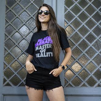 T-shirt Black Sabbath pour femmes - Wavy Logo - ROCK OFF, ROCK OFF, Black Sabbath