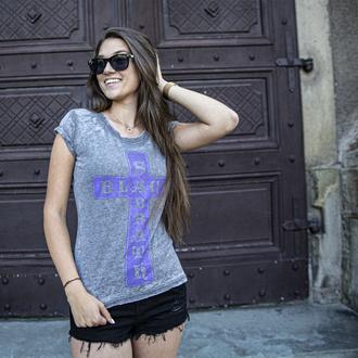 tee-shirt métal pour femmes Black Sabbath - Vintage Cross - ROCK OFF, ROCK OFF, Black Sabbath