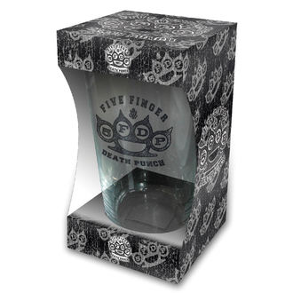 Verre FIVE FINGER DEATH PUNCH - KNUCKLE LOGO - RAZAMATAZ, RAZAMATAZ, Five Finger Death Punch