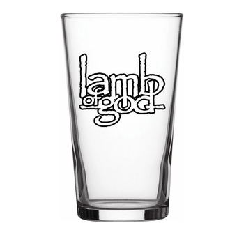 Verre LAMB OF GOD - LOGO - RAZAMATAZ, RAZAMATAZ, Lamb of God