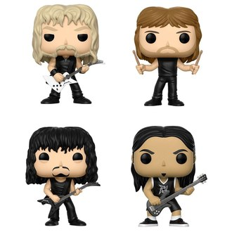 Ensemble de figurines Metallica - Band, POP, Metallica