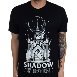 T-shirt Shadow of Intent pour hommes - Burning Church - Noir - INDIEMERCH, INDIEMERCH, Shadow of Intent