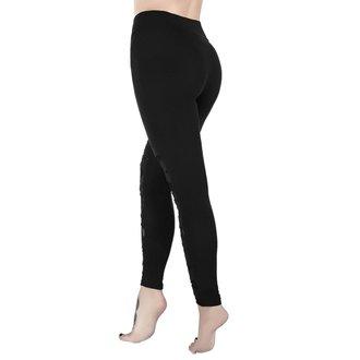 Leggings pour femmes KILLSTAR - CASKET KICKER - NOIR, KILLSTAR