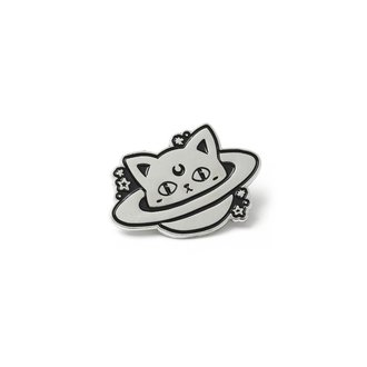 Pins KILLSTAR - CAT PLANET - NOIR, KILLSTAR