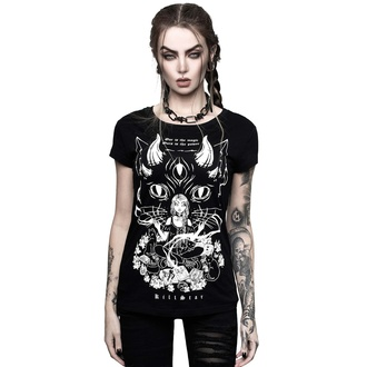 T-shirt pour femmes KILLSTAR - Cat Lord Scoop, KILLSTAR