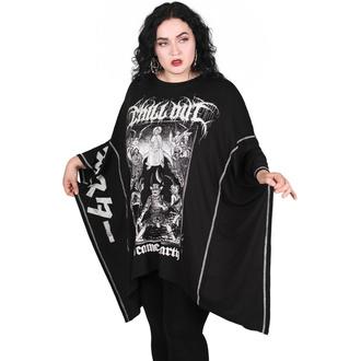 T-shirt pour femmes (tunique) KILLSTAR - Chill Out Batwing - Noir, KILLSTAR