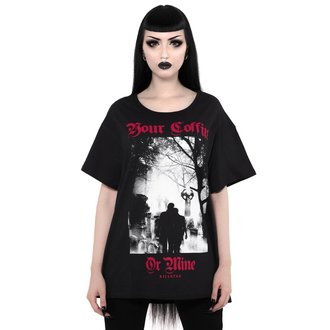 t-shirt unisexe - Coffin Relaxed - KILLSTAR, KILLSTAR
