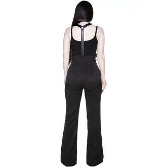 pantalon pour femmes KILLSTAR - Corporate Misfit - Rayure fine, KILLSTAR